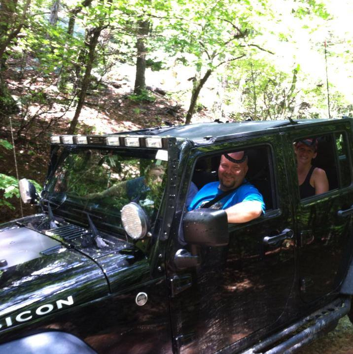 Scott & his Jeep